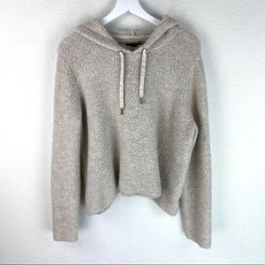 American Eagle Fluffy Hoodie Size Large